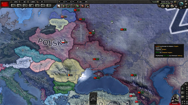 Colored Puppets Mod for Hearts of Iron 4
