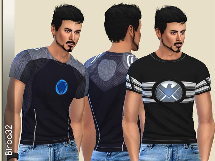 Avengers/Tony Stark T-Shirts / Sims 4 CC