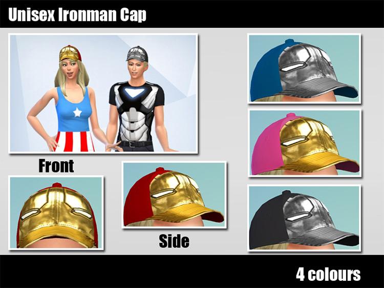 Iron Man Cap / TS4 CC