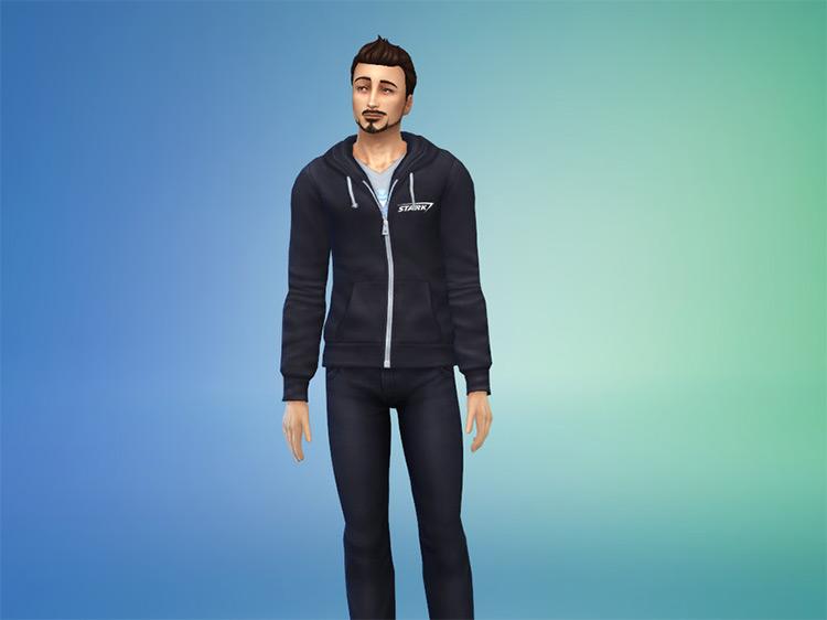 Stark Industries Hoodie / Sims 4 CC