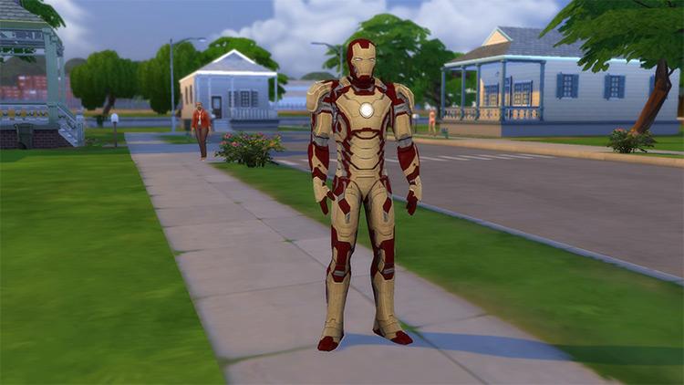 Iron Man MK. 42 Suit / Sims 4 CC