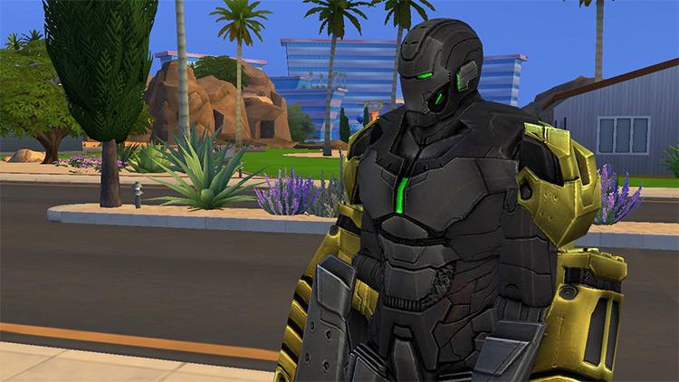 Iron Man MK.25 Thumper / Sims 4 CC