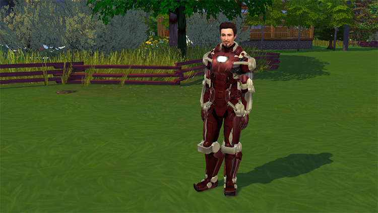 Functional Iron Man Suit for The Sims 4