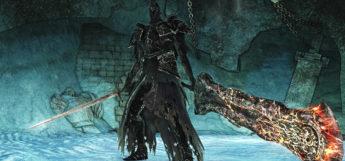 Fume Knight Posing in Dark Souls 2