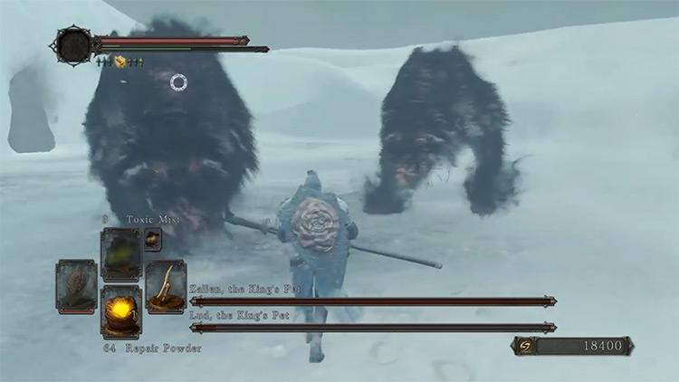 Lud and Zallen, the King's Pets Dark Souls 2