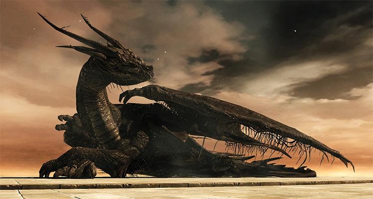 Ancient Dragon from Dark Souls 2