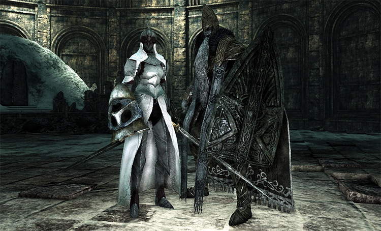 Throne Watcher and Throne Defender from Dark Souls 2