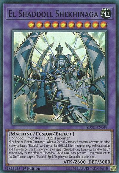 El Shaddoll Shekinaga Yu-Gi-Oh Card