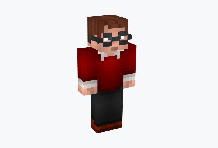 Microsoft Bill Gates / Minecraft Skin