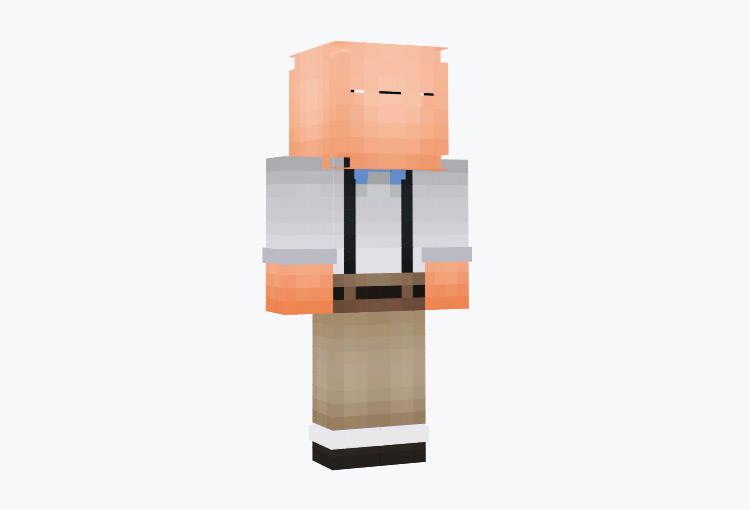 Derpy Nerd Character / Minecraft Skin