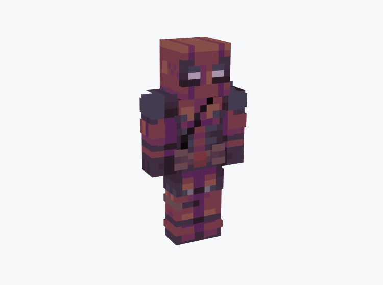 Deadpool Marvel Character / Minecraft Skin