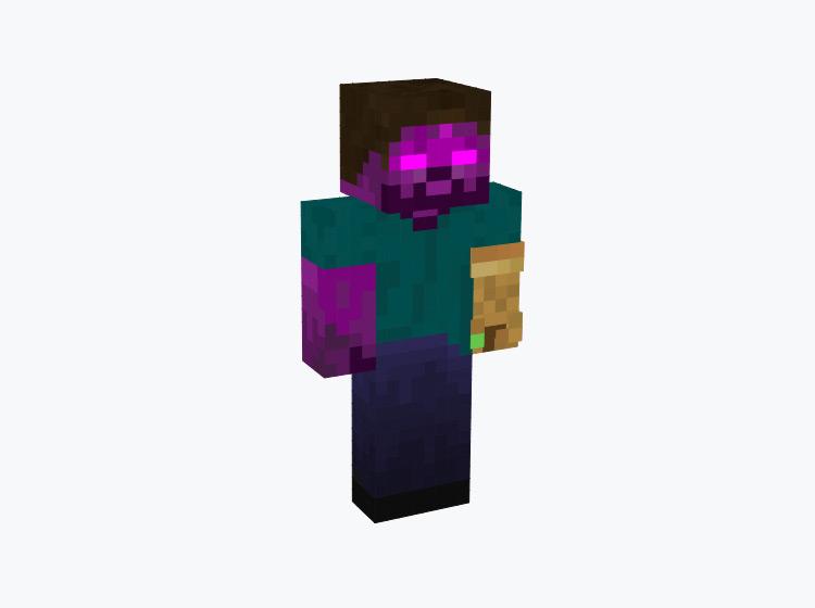 Thanos Steve Design / Minecraft Skin