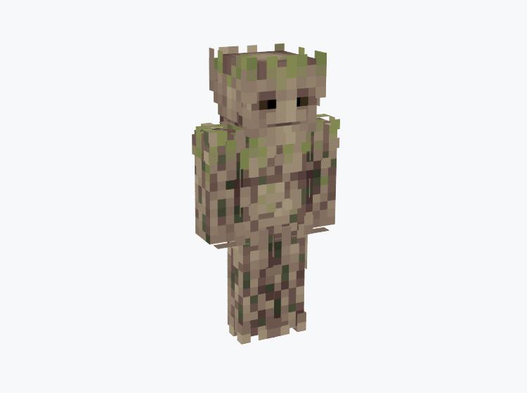 Groot Marvel Character / Minecraft Skin