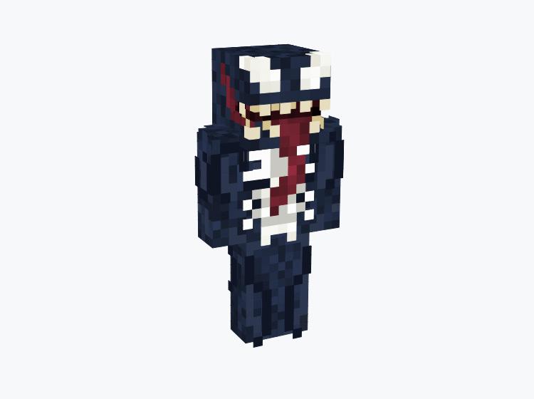 Marvel's Venom / Minecraft Skin
