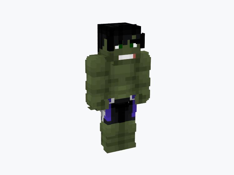 The Hulk / Minecraft Skin