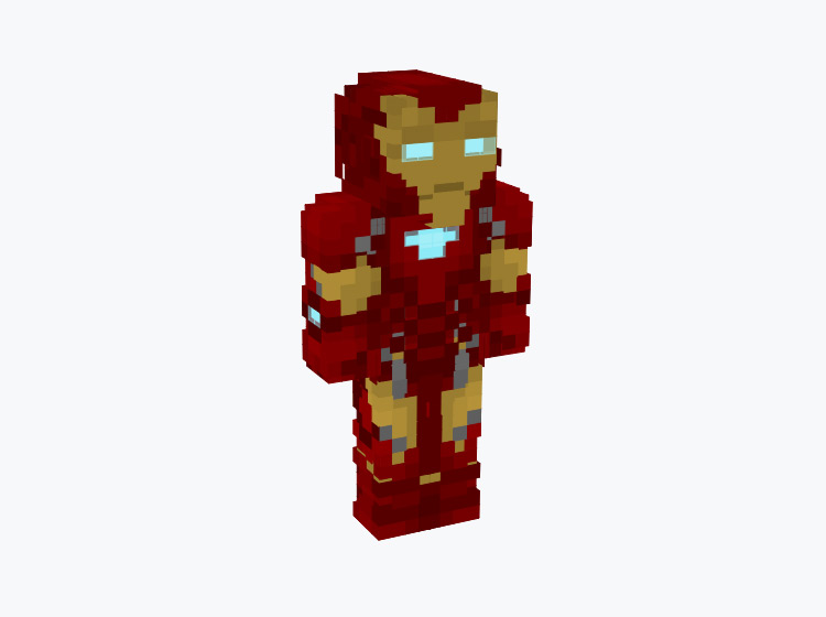 Marvel's Iron Man / Minecraft Skin