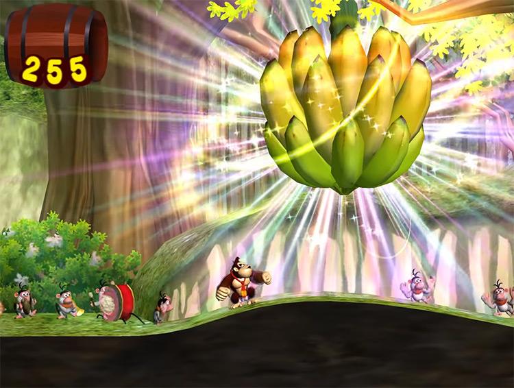 Donkey Kong Jungle Beat GameCube screenshot