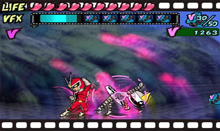 Viewtiful Joe GameCube screenshot