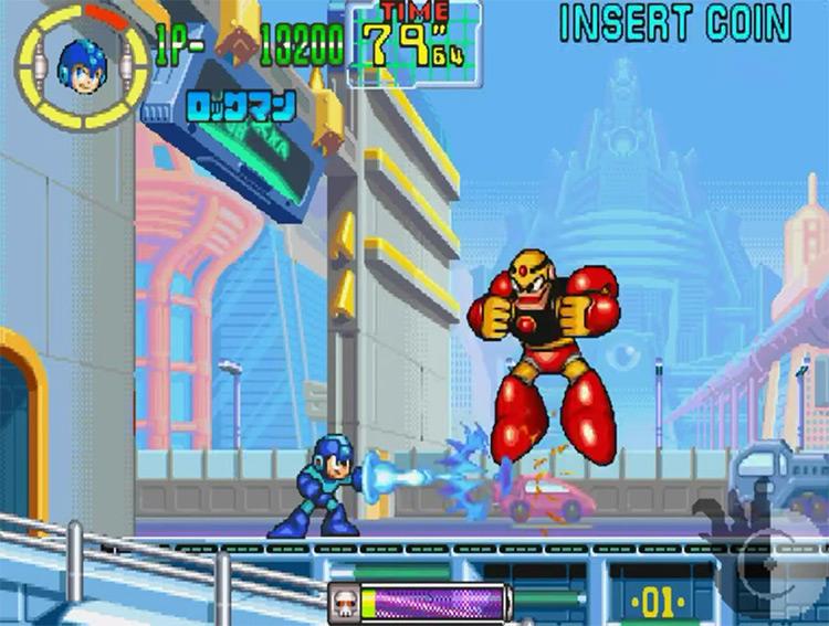 Mega Man Anniversary Collection (2005) GameCube screenshot