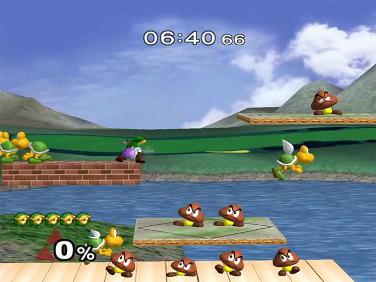 Super Smash Bros. Melee / GameCube screenshot