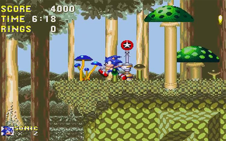 Sonic Mega Collection (2002) GameCube screenshot