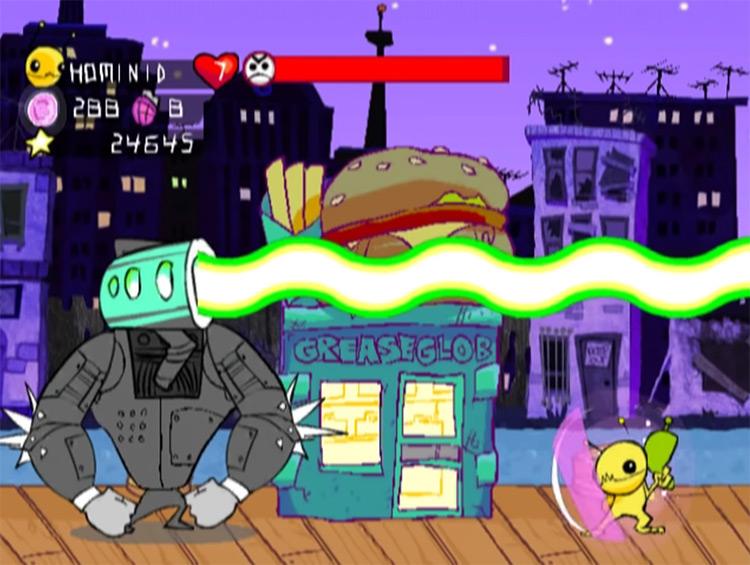 Alien Hominid GCN screenshot
