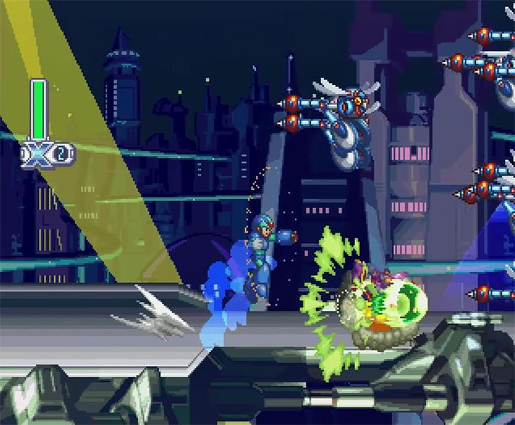 Mega Man X Collection (2006) screenshot