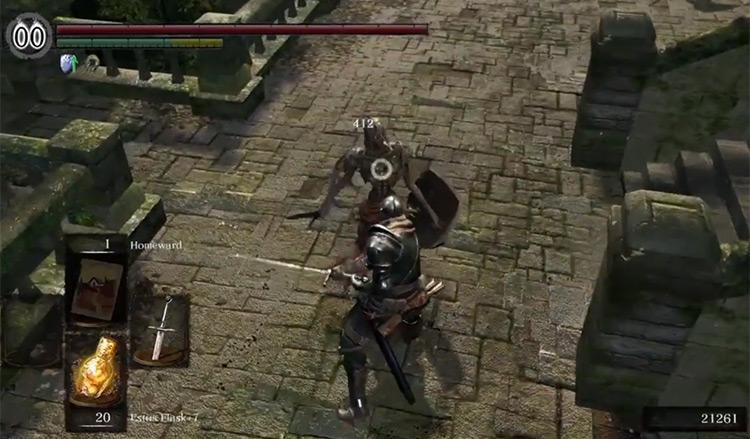 Dark Souls Remastered Longsword screenshot