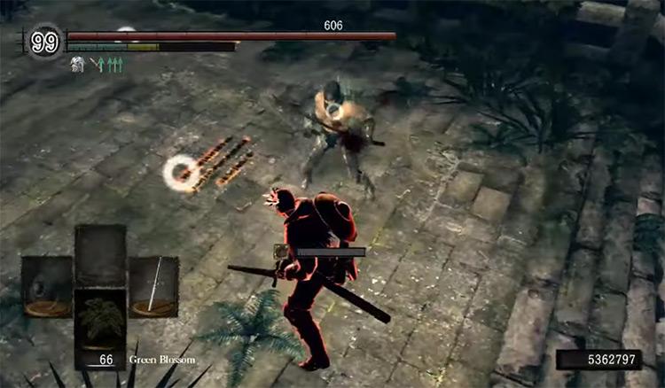 Dark Souls Remastered Sunlight Straight Sword screenshot
