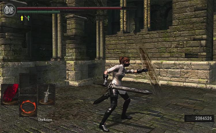 Dark Souls Remastered Darksword gameplay screenshot