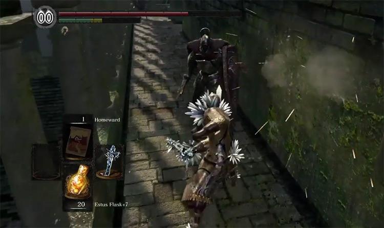 Dark Souls Remastered Crystal Straight Sword screenshot
