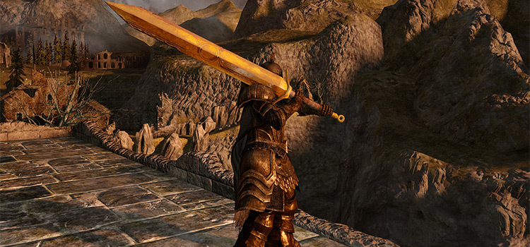 DS2 Golded Pursuer Greatsword (Modded Preview)