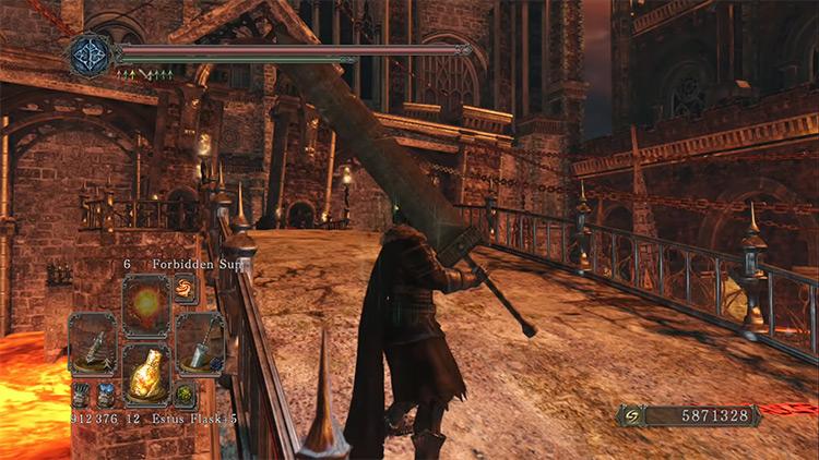 Dark Souls 2 Greatsword screenshot