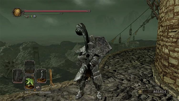 Dark Souls 2 Dragon Tooth gameplay screenshot