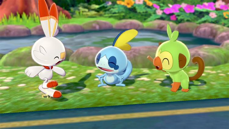 Pokemon Sword and Shield Starter Options Screenshot