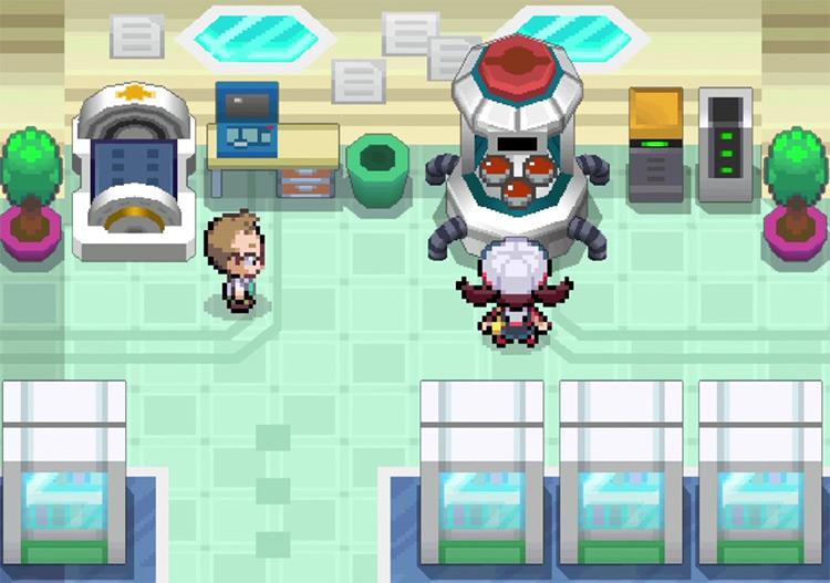 Pokemon HeartGold / SoulSilver Starters screenshot