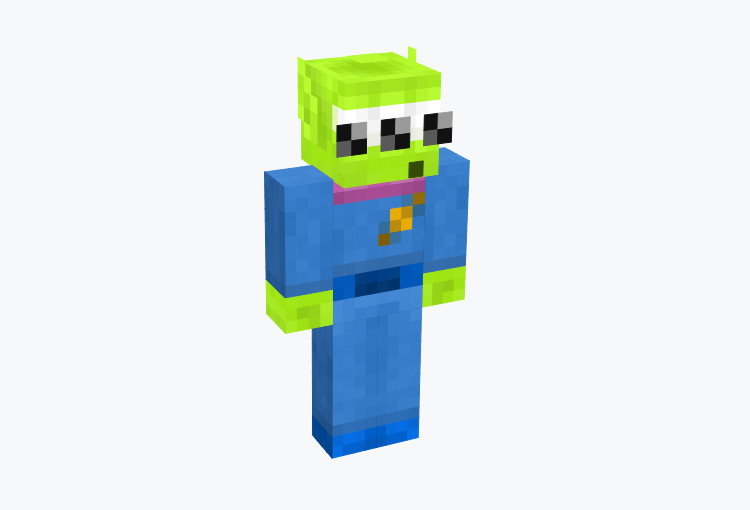 Green Aliens from Toy Story / Minecraft Skin