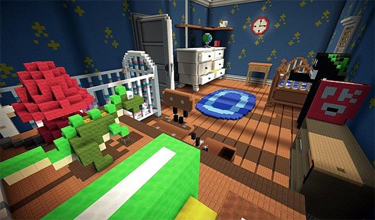 Toy Story 2 Adventure Map Preview for Minecraft