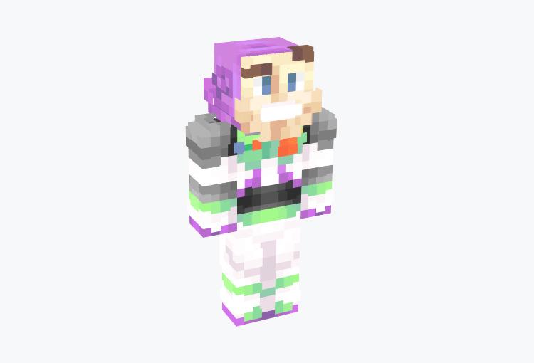 Basic Toy Story Buzz Lightyear Skin for Minecraft