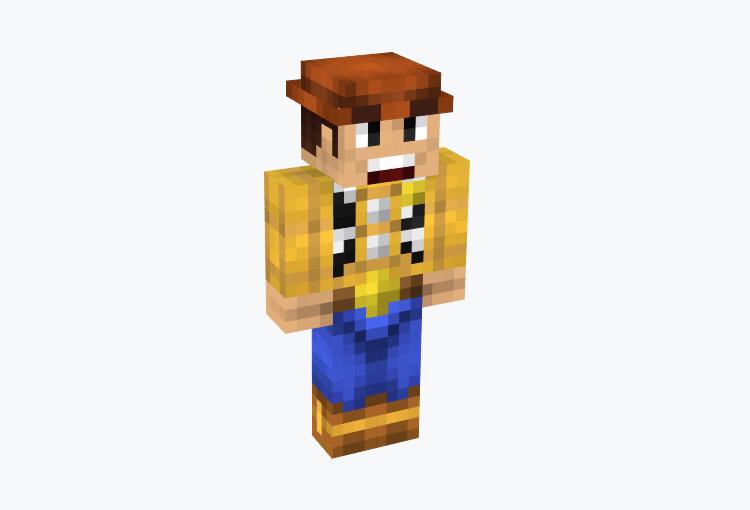 Sheriff Woody Skin for Minecraft