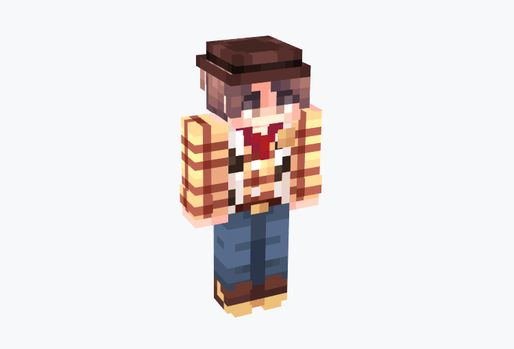 Detailed Woody Skin for Minecraft