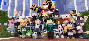 Minecraft My Hero Academia Opening Re-Created