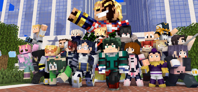 Best Minecraft My Hero Academia Skins: The Ultimate Collection