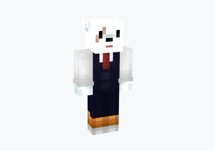 Nezu Mr. Principal from BNHA / Minecraft Skin