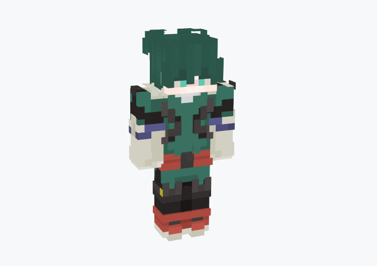 Izuku Midoriya (Deku) from BNHA / Minecraft Skin