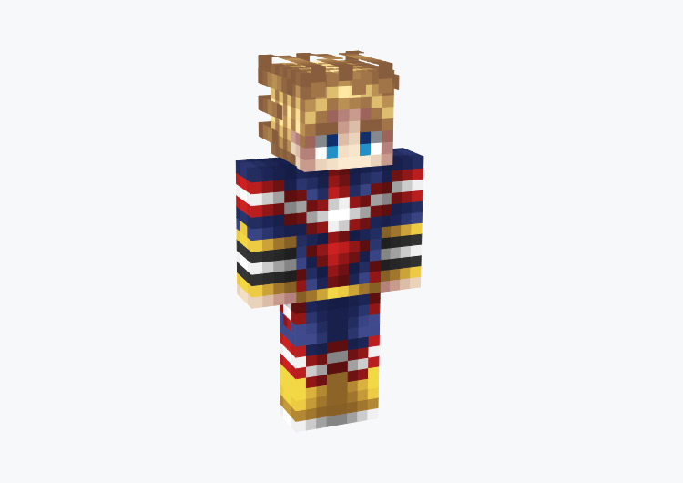 Young All Might BNHA / Minecraft Skin