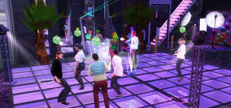 Sims 4 Bar & Nightclub CC + Lots (All Free)