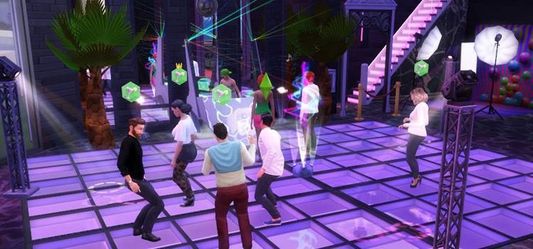 Custom Natasha Nightclub Lot (Interior) for The Sims 4