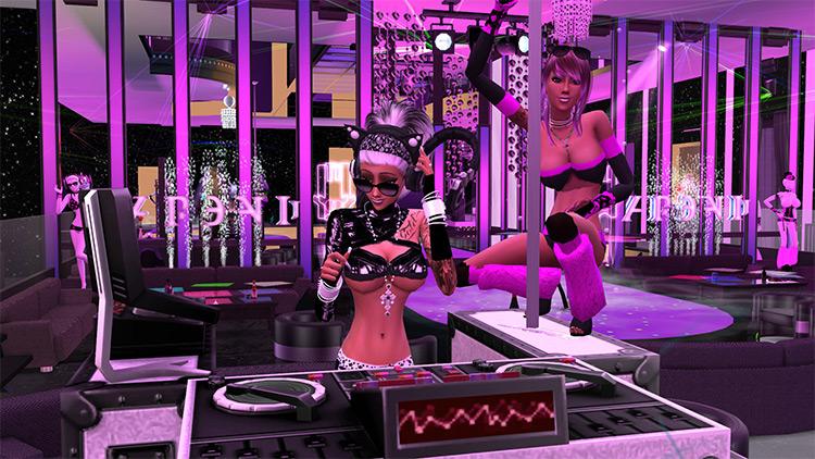 DJ Booth Plays Custom Music / TS4 CC