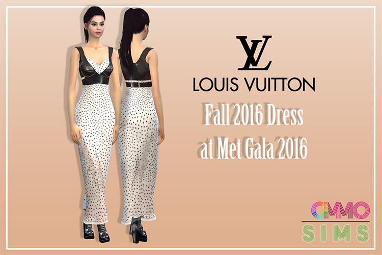 Selena Gomez Fall 2016 Dress at Met Gala for The Sims 4